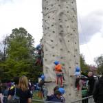 Climbing Wall at Celebrate 2010
