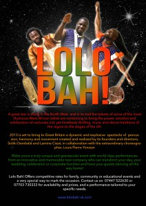 Lolo Bah Poster