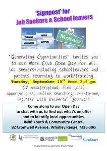Generating Opportunities flyer Restart