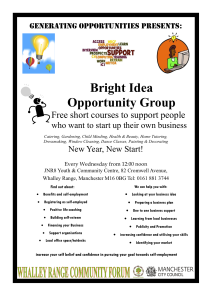 Bright Idea Opportunity Group