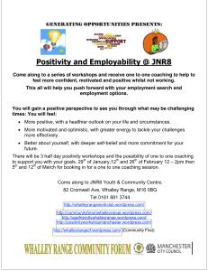 Positivity and Employment Programme
