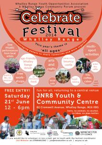 Poster for Celebrate Festival 2014