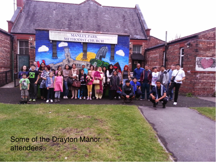 Drayton Manor trip 2014