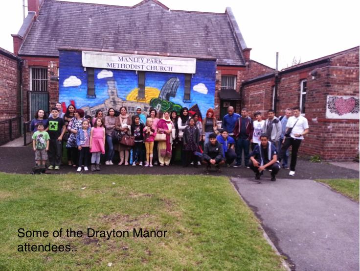 Drayton Manor trip 2014